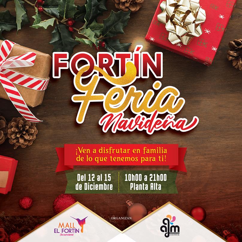 FORTÍN FERIA NAVIDEÑA 12-13-14-15 DICIEMBRE 2019