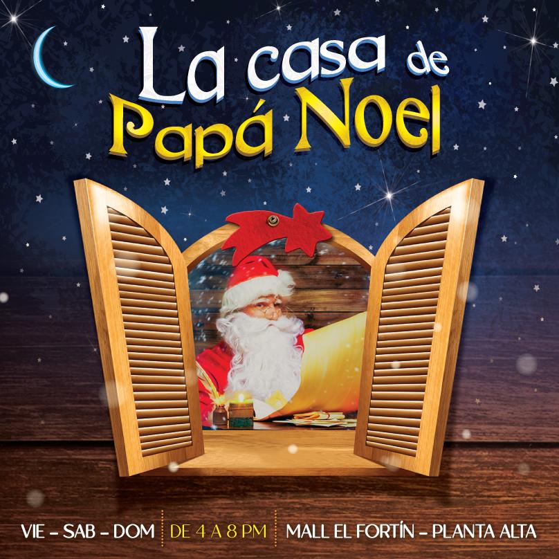 LA CASA DE PAPÁ NOEL DESDE EL 07/12/2019 HASTA EL 24/12/2019