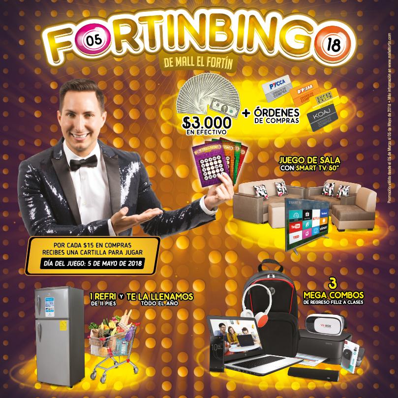 FORTINBINGO DESDE EL 05/03/2018 HASTA EL 05/05/2018