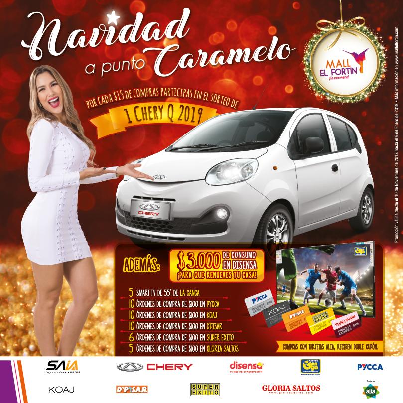 NAVIDAD A PUNTO CARAMELO DESDE 10/11/2018 HASTA EL 06/01/2019