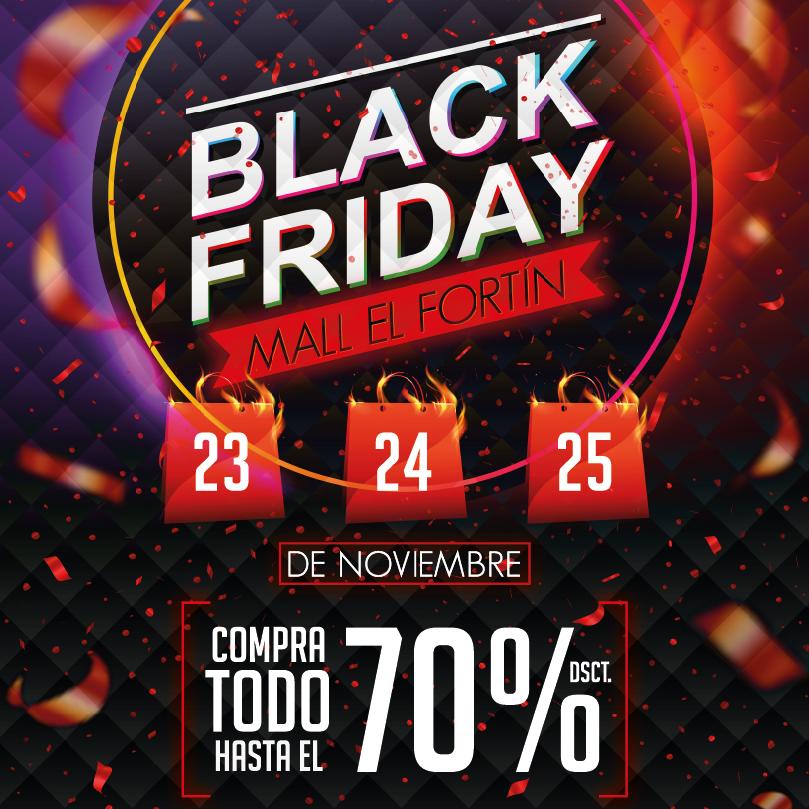 BLACK FRIDAY 23, 24 Y 25 DE NOVIEMBRE