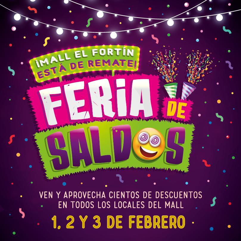 FERIA DE SALDOS DESDE EL 01/02/2019 HASTA 03/02/2019