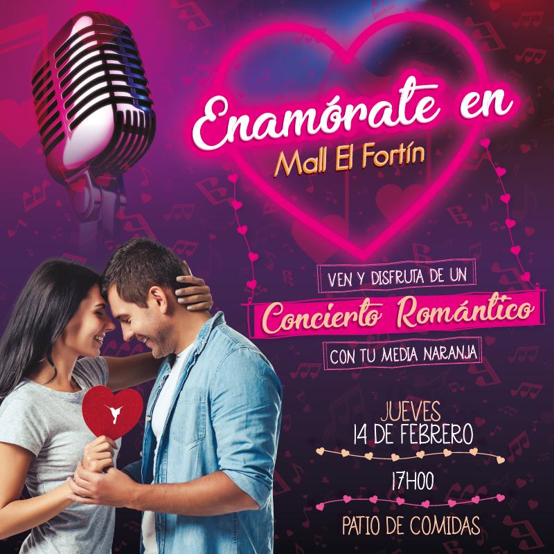 ENAMÓRATE EN MALL EL FORTÍN 14/02/2019