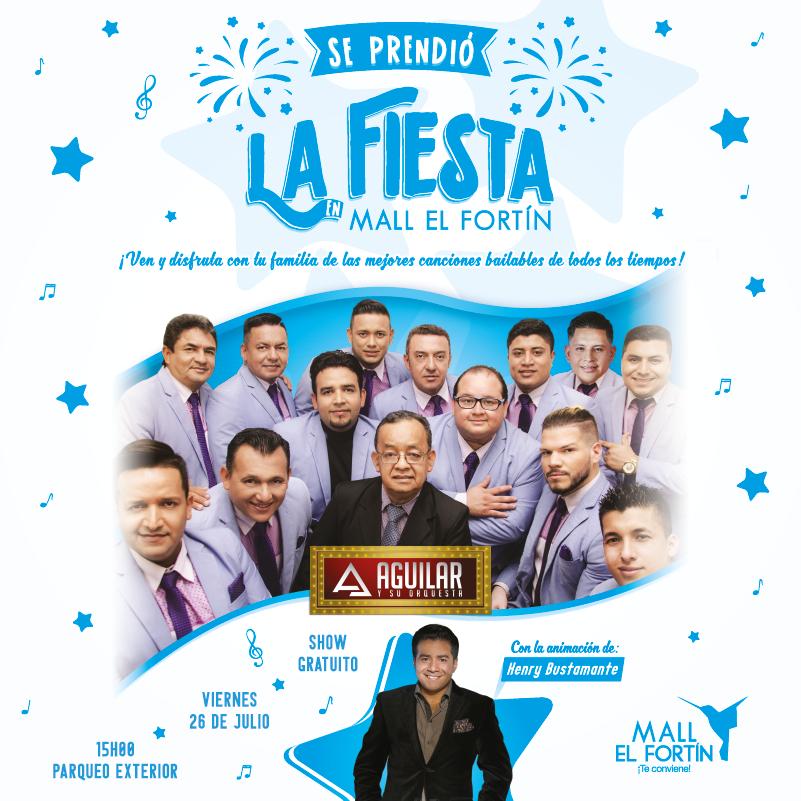 SE PRENDIÓ LA FIESTA EN MALL EL FORTÍN 26/07/2019