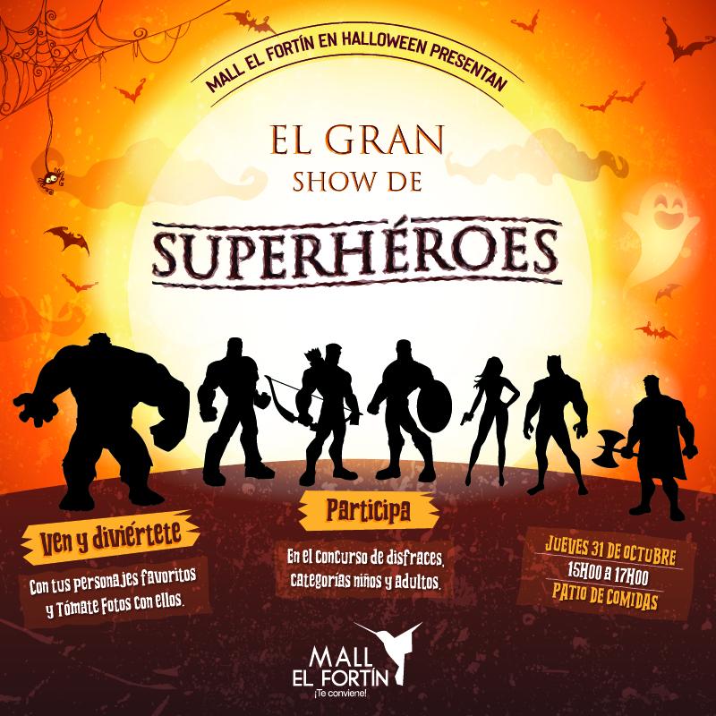 EL GRAN SHOW DE SUPERHÉROES 31/10/2019
