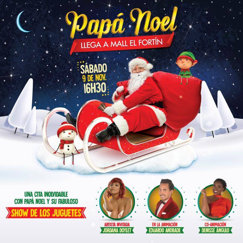 Llegada de Papá Noel 09/11/2019