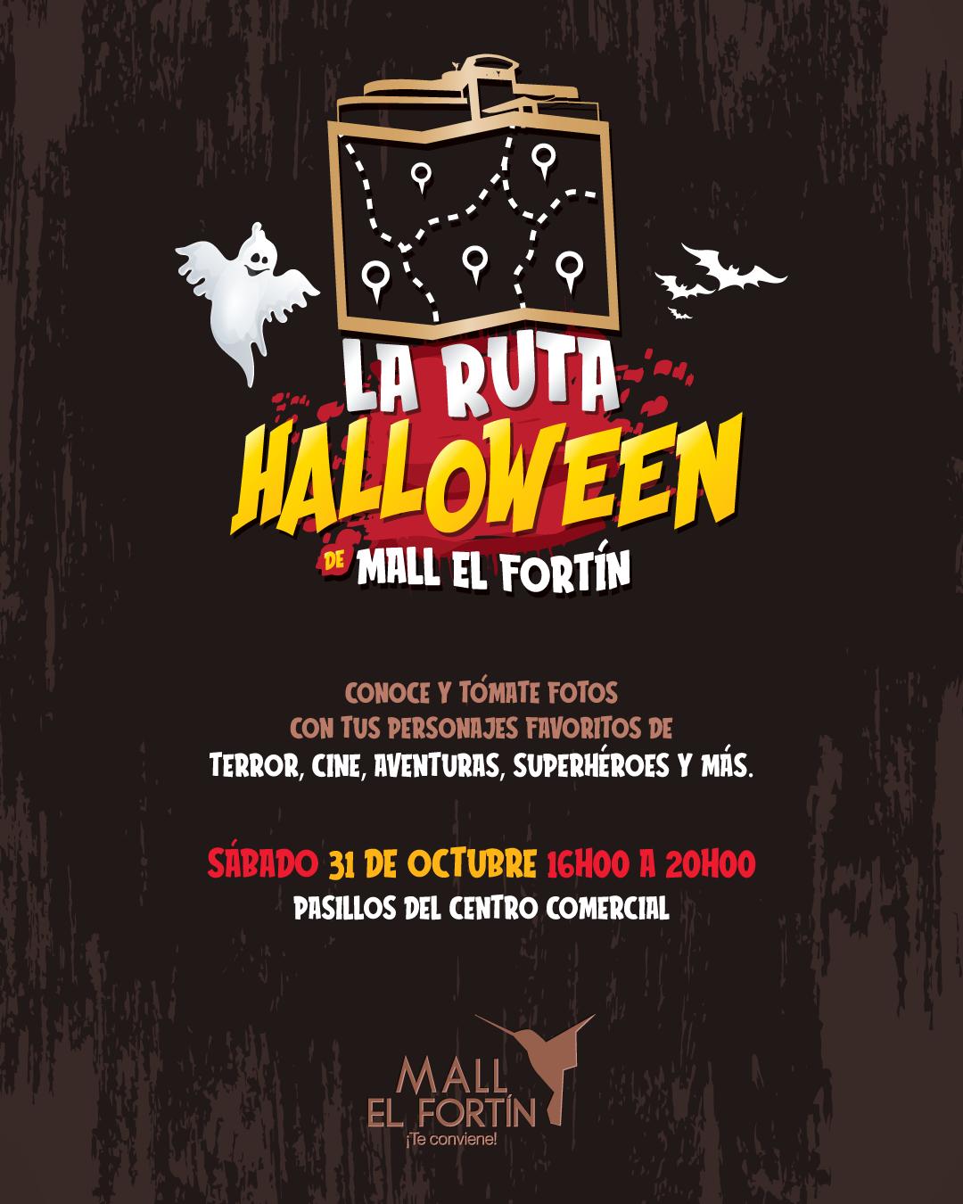 LA RUTA HALLOWEEN DE MALL EL FORTÍN 31/10/2020