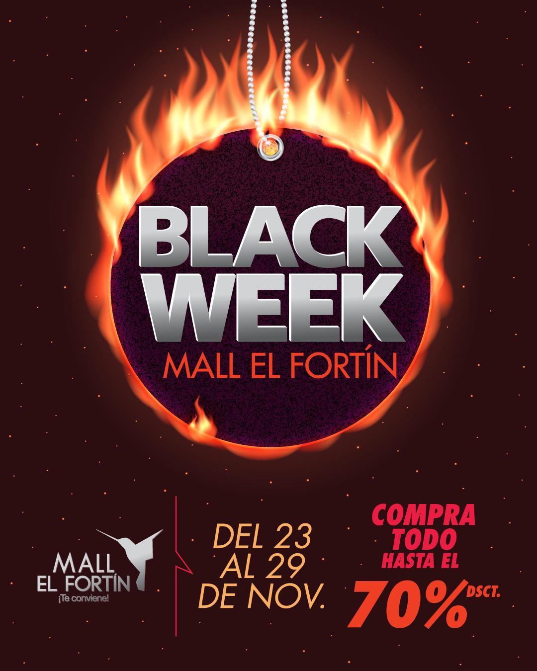 BLACK WEEK DESDE EL 23/11/2020 HASTA EL 29/11/2020