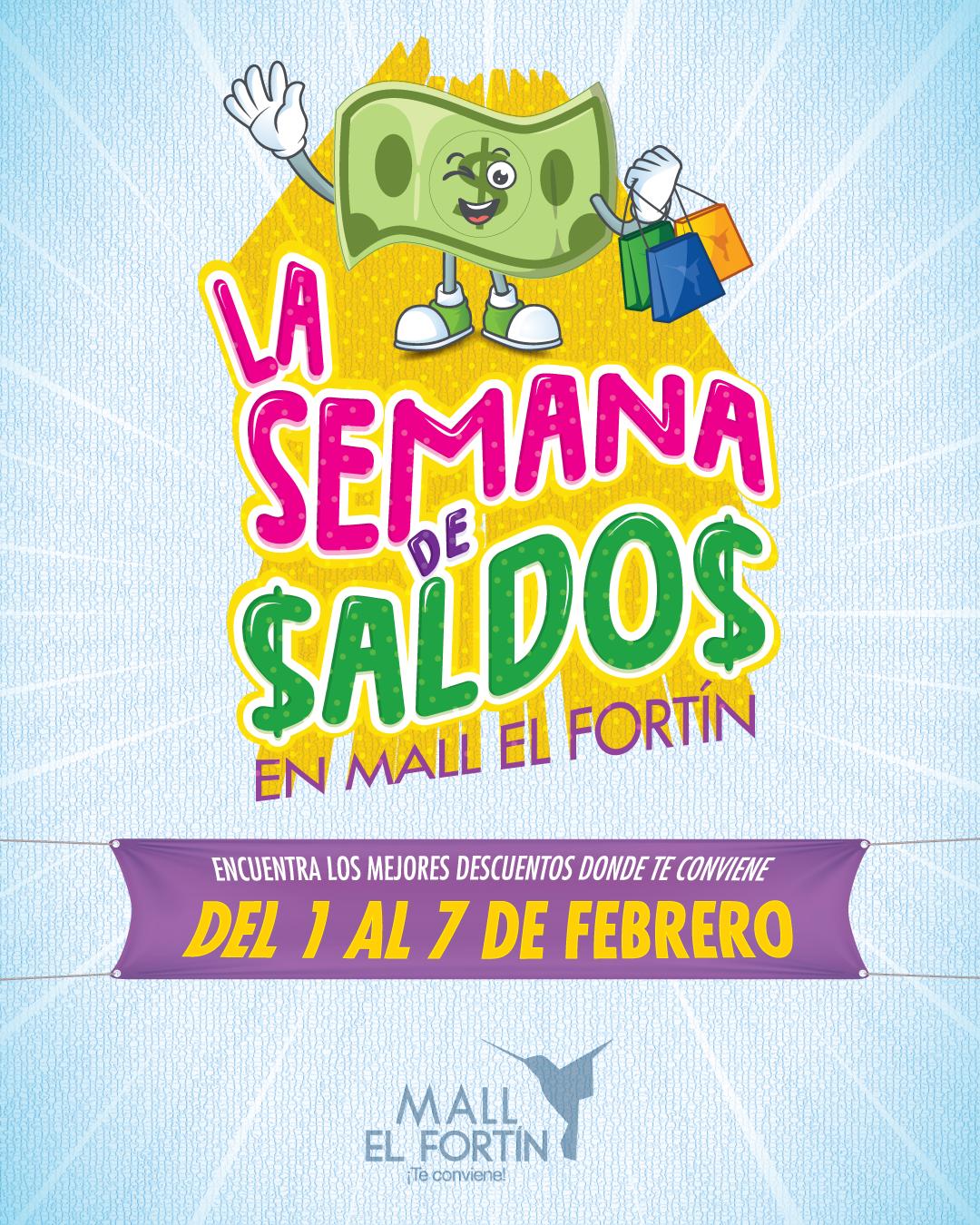 LA SEMANA DE SALDOS DESDE EL 1/2/2021 HASTA EL 7/2/2021