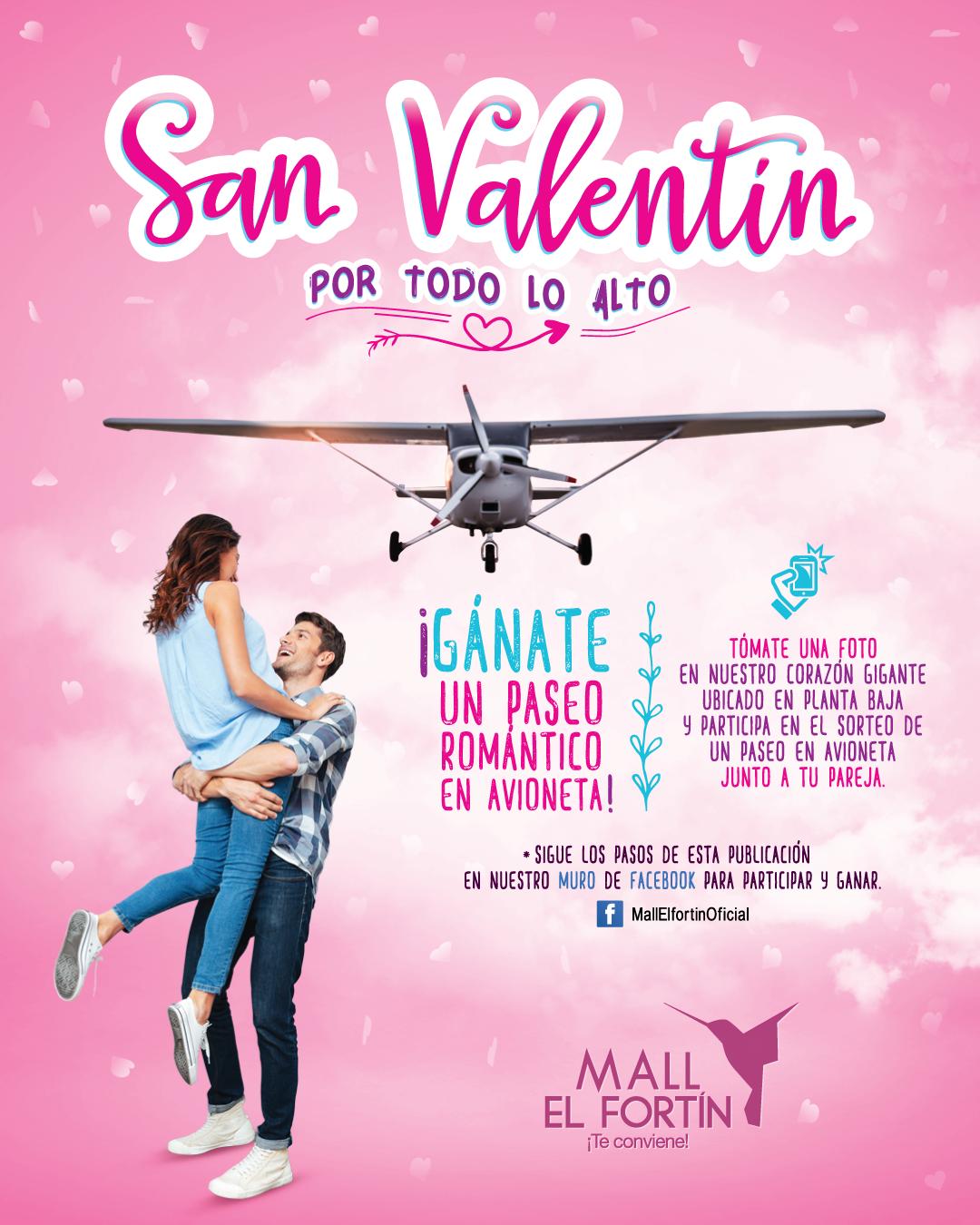 SAN VALENTÍN POR TODO LO ALTO DESDE EL 12/02/2021 HASTA EL 17/02/2021