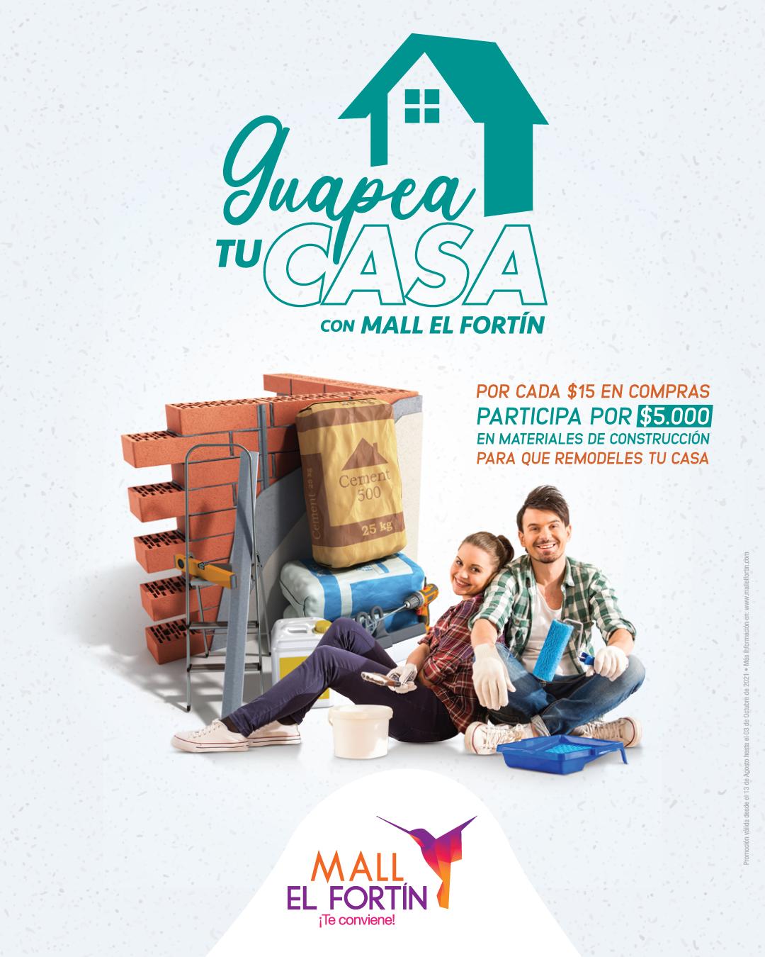 GUAPEA TU CASA DESDE EL 13/08/2021 HASTA EL 03/10/2021